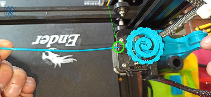 calibrar pasos extrusor ender 3, perdida de pasos impresora 3D