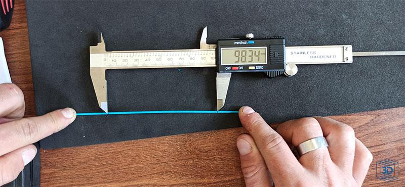calibrar extrusor bowden